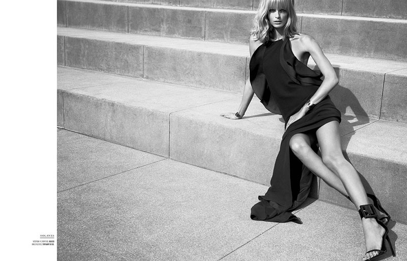 julia stegner mujer7 Julia Stegner Shines in El Libro Amarillo S/S 2013 by David Roemer