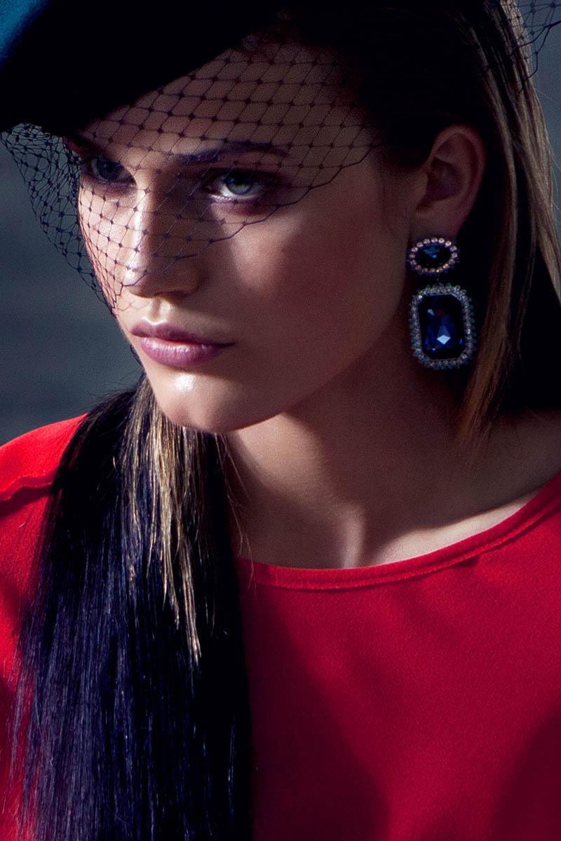"""Karolina Waz by Michal Kar and Maciej Piorko in """"Glam Rock Chic"""" for Fashion Gone Rogue"""