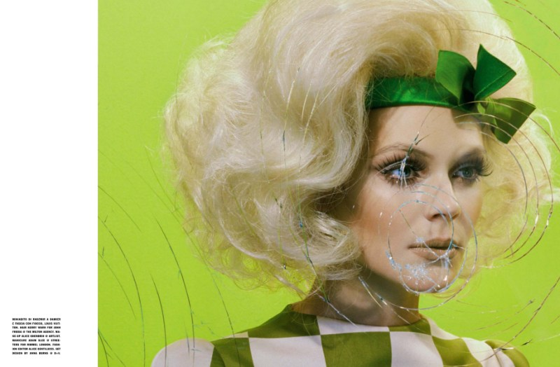 kinga rajzak miles aldridge4 Kinga Rajzak in Mannequin Thriller for Vogue Italia March 2013 by Miles Aldridge