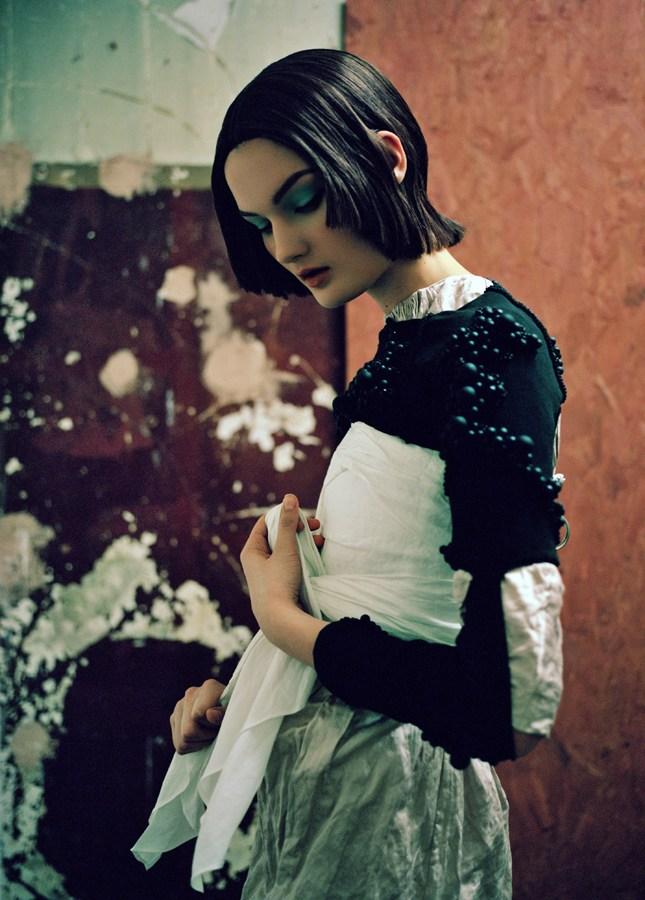 kirsi tank magazine7 Kirsi Pyrhonen Enchants for Tank Magazine Spring 2013 by Jeff Hahn