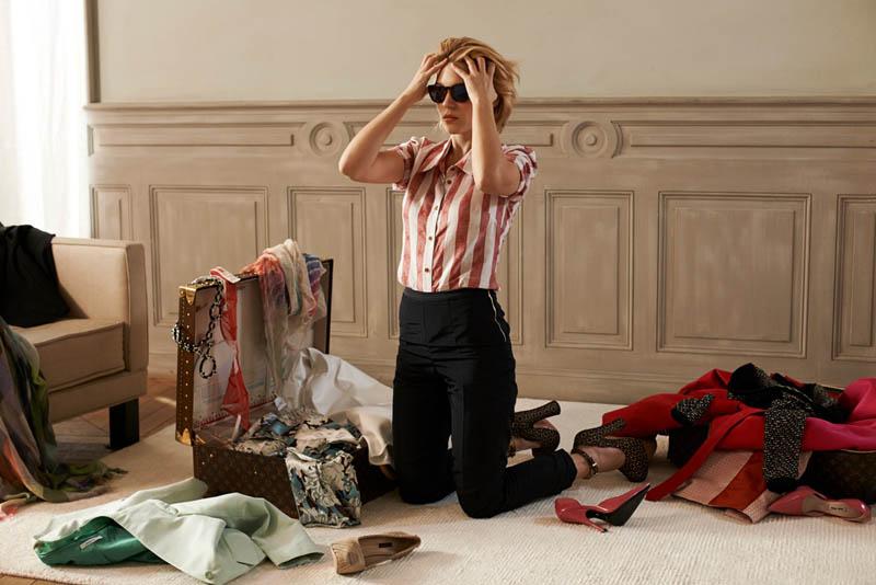 Léa Seydoux Unpacks for Elle Korea by Eric Guillemain