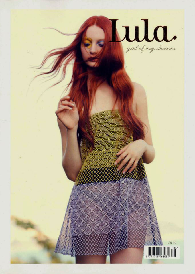 lula magazine codie young cover Karlina Caune and Codie Young Cover Lulas Spring/Summer Issue