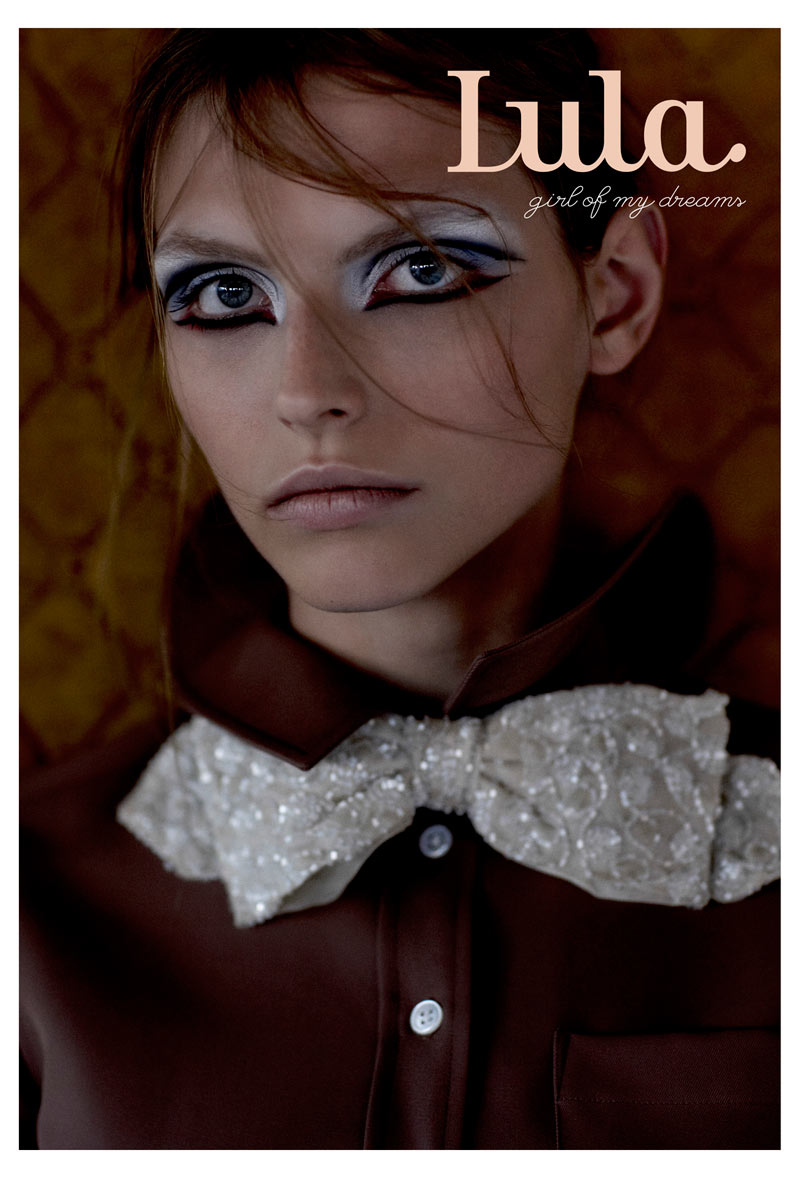 lula magazine karlina caune cover Karlina Caune and Codie Young Cover Lulas Spring/Summer Issue