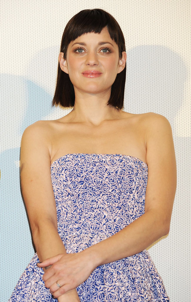 marion cotillard dior3 Marion Cotillard in Dior at the Rust and Bone Tokyo Premiere