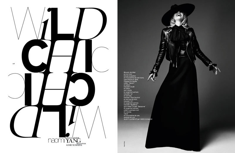 masha novoselova naomi yang1 Masha Novoselova Poses for Naomi Yang in French Revue de Modes #22