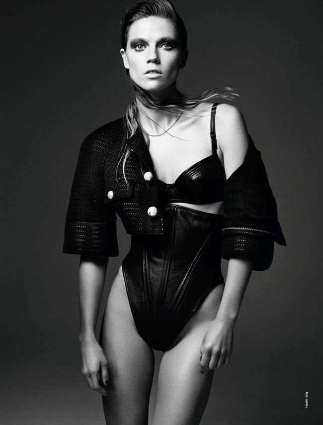 masha novoselova naomi yang2 Masha Novoselova Poses for Naomi Yang in French Revue de Modes #22