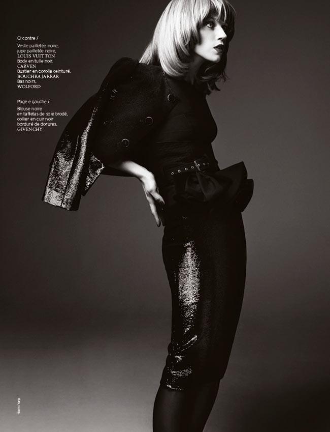 masha novoselova naomi yang5 Masha Novoselova Poses for Naomi Yang in French Revue de Modes #22