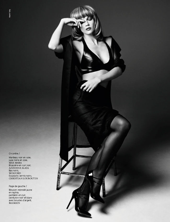 masha novoselova naomi yang7 Masha Novoselova Poses for Naomi Yang in French Revue de Modes #22