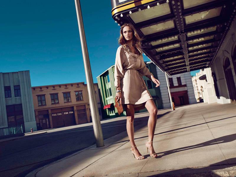 massimo dutti new york4 Karmen Pedaru Fronts Massimo Duttis NYC Campaign by Hunter & Gatti