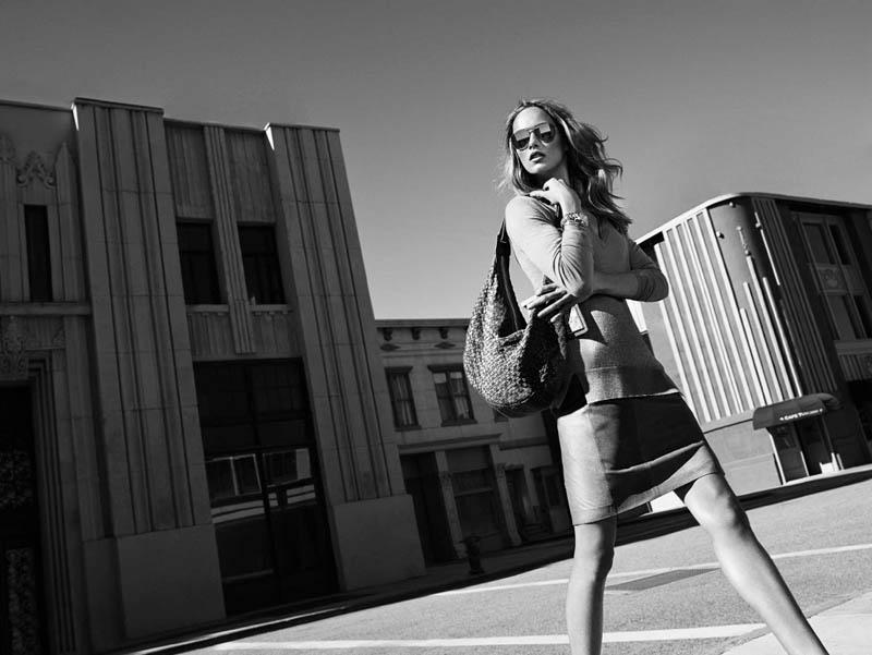 massimo dutti new york9 Karmen Pedaru Fronts Massimo Duttis NYC Campaign by Hunter & Gatti