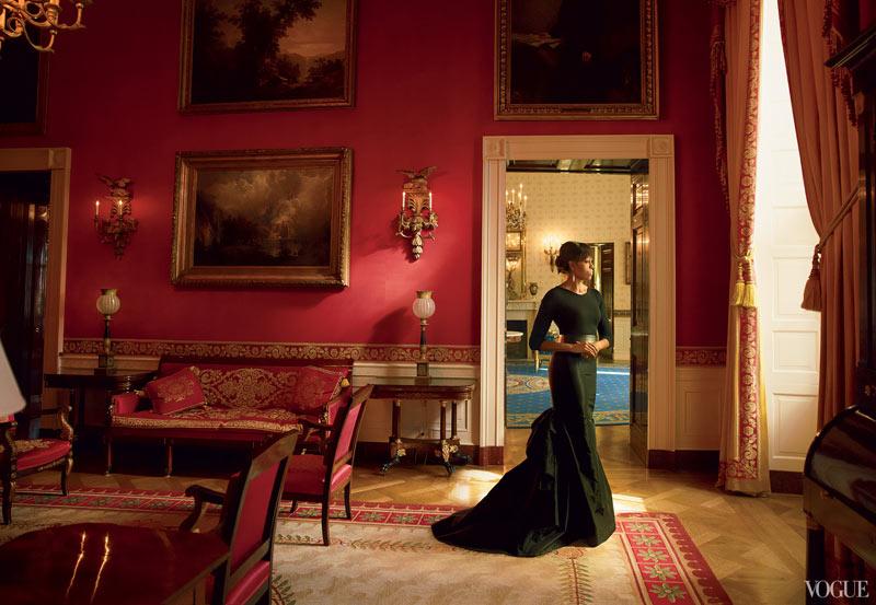 Michelle Obama Graces the April 2013 Cover of Vogue US