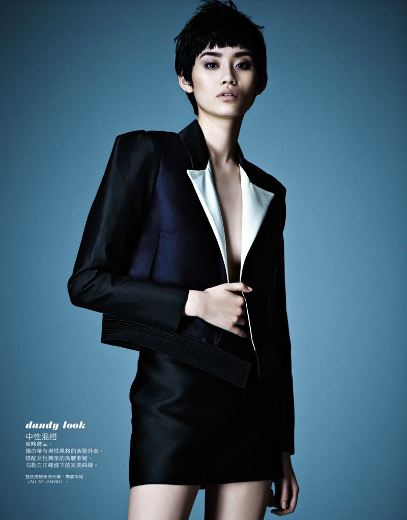 Ming Xi Stars in Elle Taiwan's March 2013 Cover Story by Jason Kim