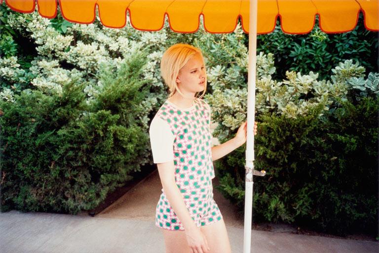 Hannah Holman Soaks Up the Sun for Orla Kiely Spring 2013 Campaign
