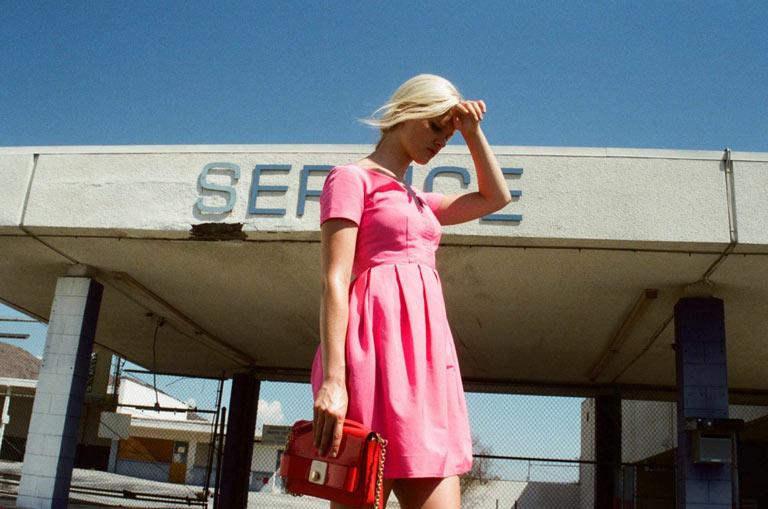 orla kiely spring campaign6 Hannah Holman Soaks Up the Sun for Orla Kiely Spring 2013 Campaign
