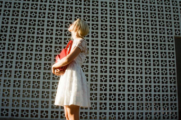 orla kiely spring campaign8 Hannah Holman Soaks Up the Sun for Orla Kiely Spring 2013 Campaign
