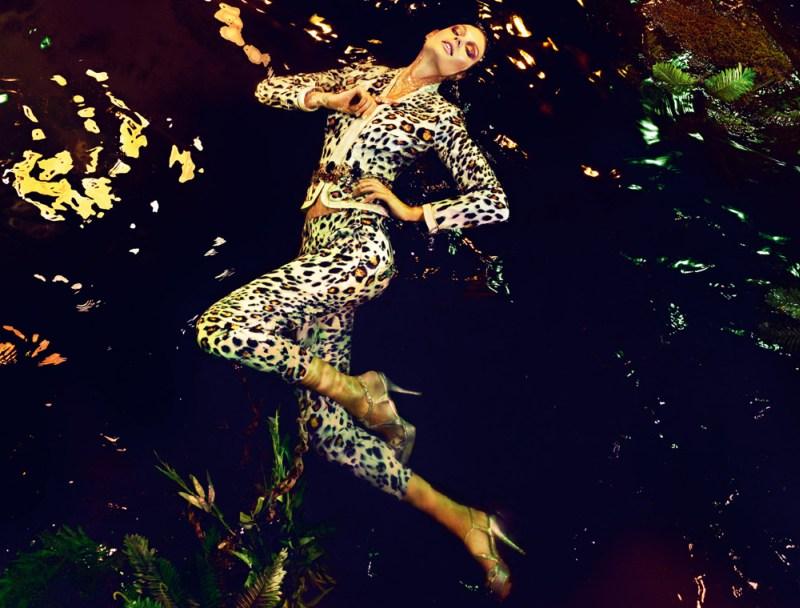 Patricia van der Vliet Floats for Gizia's Spring 2013 Campaign