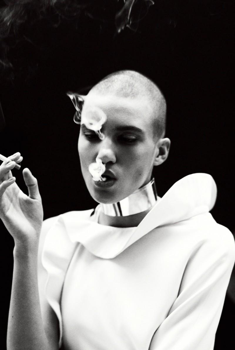 Tamy Glauser Poses for Paul Schmidt in Commons & Sense