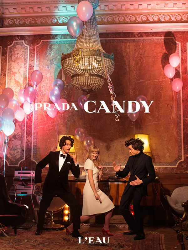 See Léa Seydoux Star in Prada Candy L'eau Film by Roman Coppola and Wes Anderson