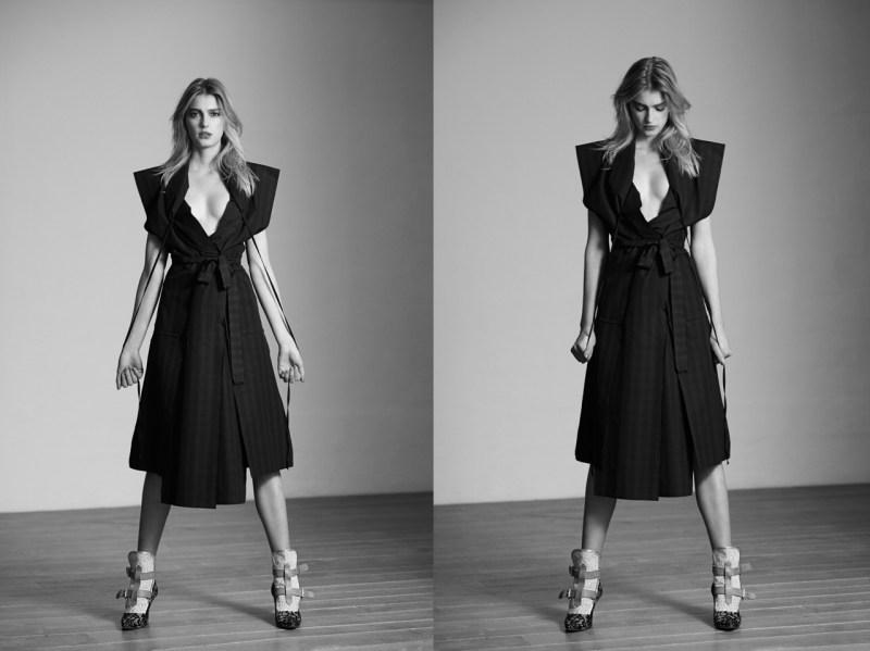 sigrid agren viva moda1 Sigrid Agren Evokes Modern Elegance for Viva! Moda by Eric Guillemain