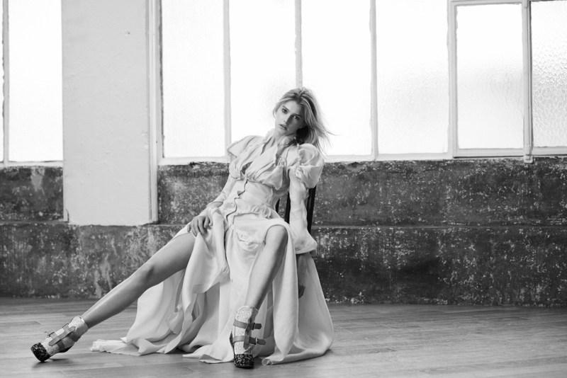 Sigrid Agren Evokes Modern Elegance for Viva! Moda by Eric Guillemain
