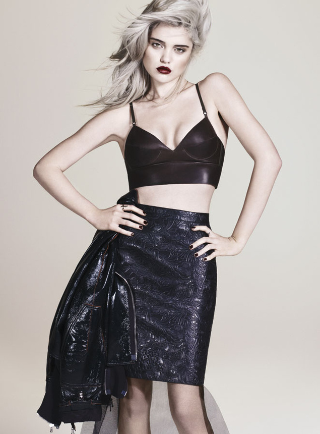 sky ferreira 4524 635x Sky Ferreira Poses for Andrew Yee in S Moda March 2013