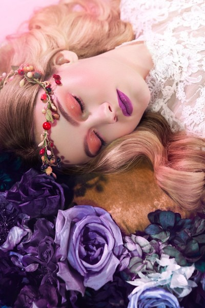Michelle Du Xuan Captures Sleeping Beauty for Madame Figaro China April 2013