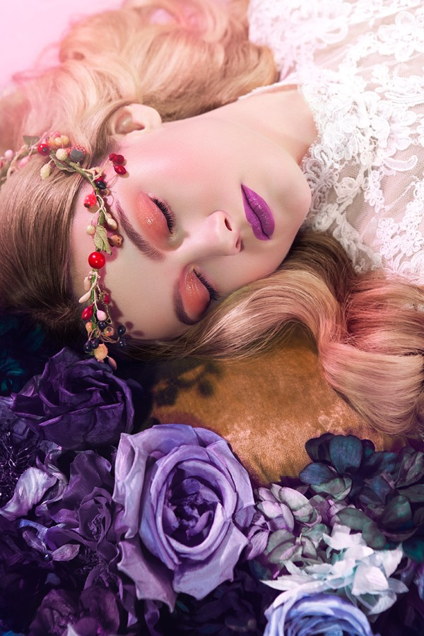 sleeping beauty3 Michelle Du Xuan Captures Sleeping Beauty for Madame Figaro China April 2013