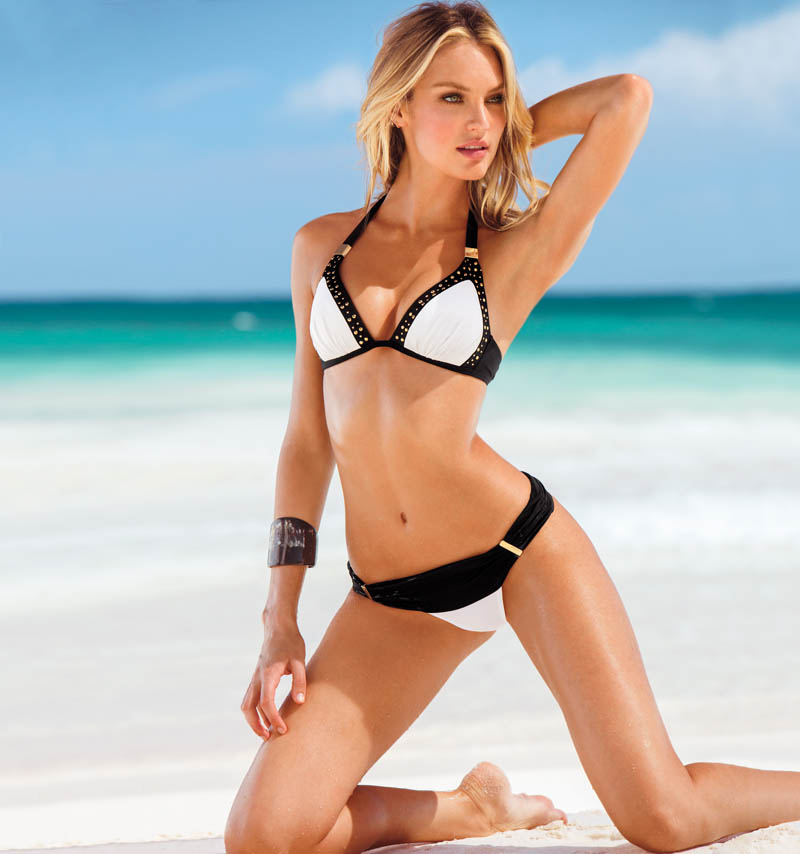 Karlie Kloss, Candice Swanepoel, Barbara Palvin, Magdalena Frackowiak and Others Star in Victoria's Secret Swim 2013 Catalogue