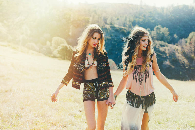 thread sence lookbook12 ThreadSences Bohemian Glam Spring 2013 Lookbook