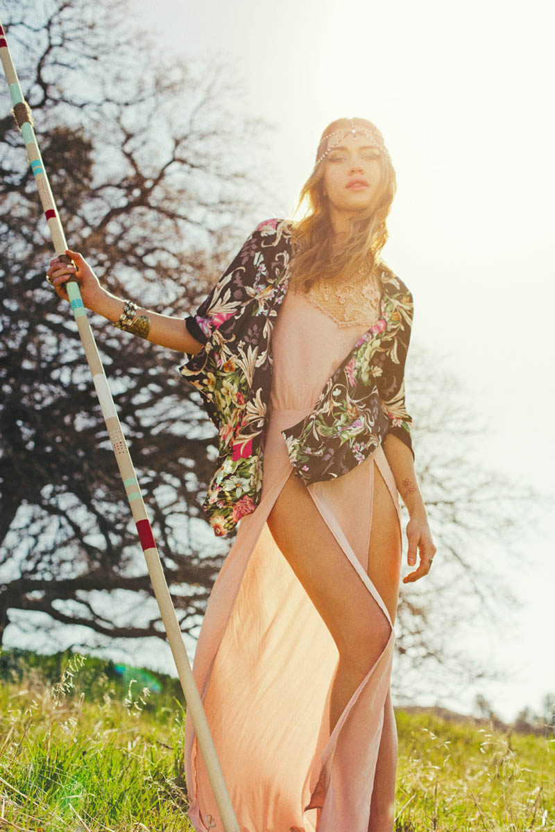 thread sence lookbook13 ThreadSences Bohemian Glam Spring 2013 Lookbook