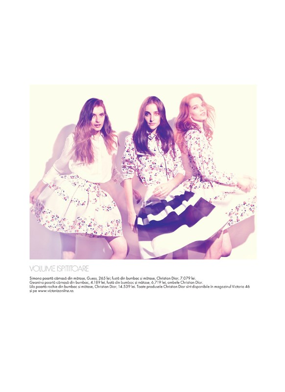 tibi clenci elle romania10 Elle Romania Features the Spring Trends in March Issue, Shot by Tibi Clenci