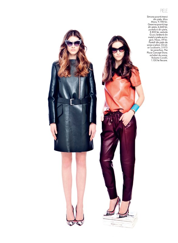tibi clenci elle romania11 Elle Romania Features the Spring Trends in March Issue, Shot by Tibi Clenci