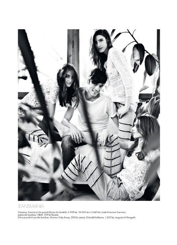 tibi clenci elle romania13 Elle Romania Features the Spring Trends in March Issue, Shot by Tibi Clenci