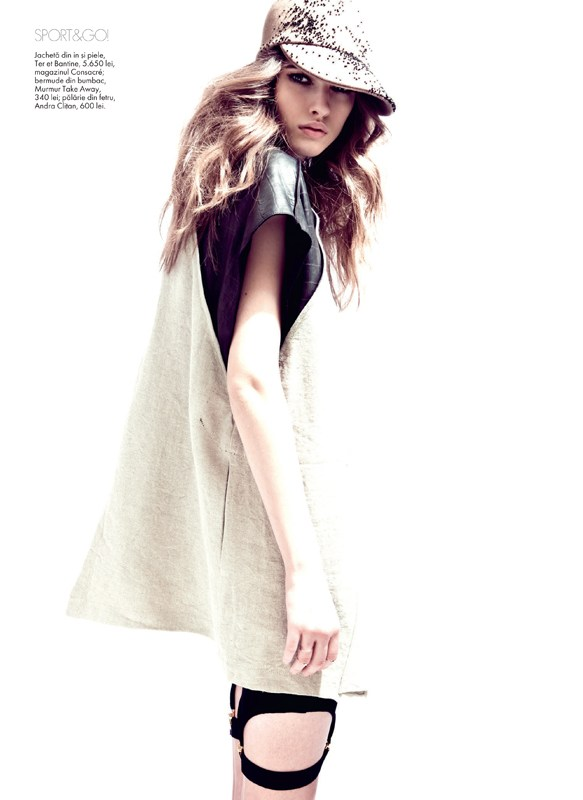 tibi clenci elle romania14 Elle Romania Features the Spring Trends in March Issue, Shot by Tibi Clenci