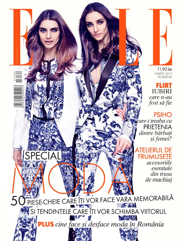 tibi clenci elle romania16 Elle Romania Features the Spring Trends in March Issue, Shot by Tibi Clenci