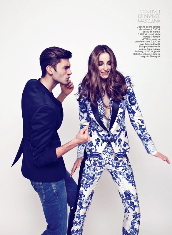 tibi clenci elle romania5 Elle Romania Features the Spring Trends in March Issue, Shot by Tibi Clenci