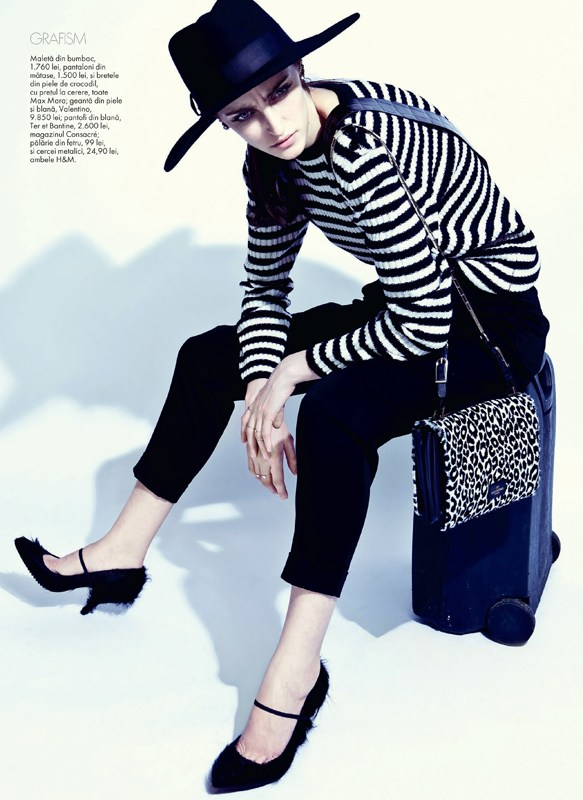 tibi clenci elle romania7 Elle Romania Features the Spring Trends in March Issue, Shot by Tibi Clenci