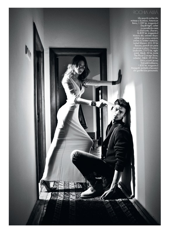 tibi clenci elle romania8 Elle Romania Features the Spring Trends in March Issue, Shot by Tibi Clenci