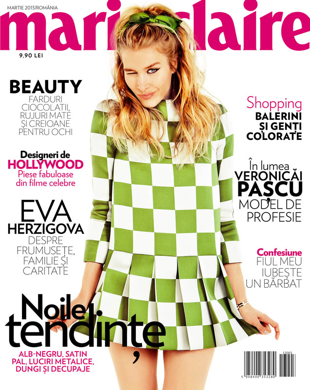 tibi clenci marie claire march 2013 1 Annemara Post Squares Up In Louis Vuitton for Marie Claire Romania by Tibi Clenci