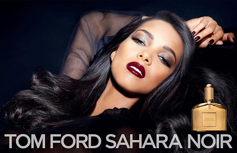 tom ford sahara noir Lais Ribeiro Stars in Tom Ford Sahara Noir Fragrance Campaign