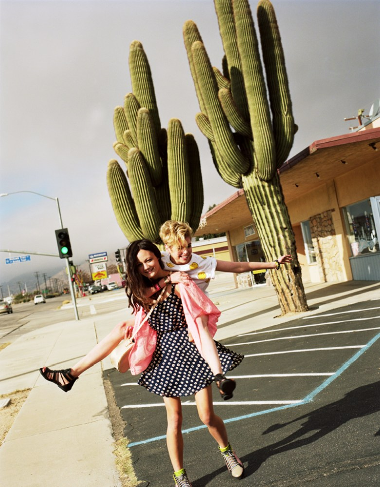 Rachel Rutt and Stella Maxwell Go on the Road for Urban Outfitters' Festival Lookbook