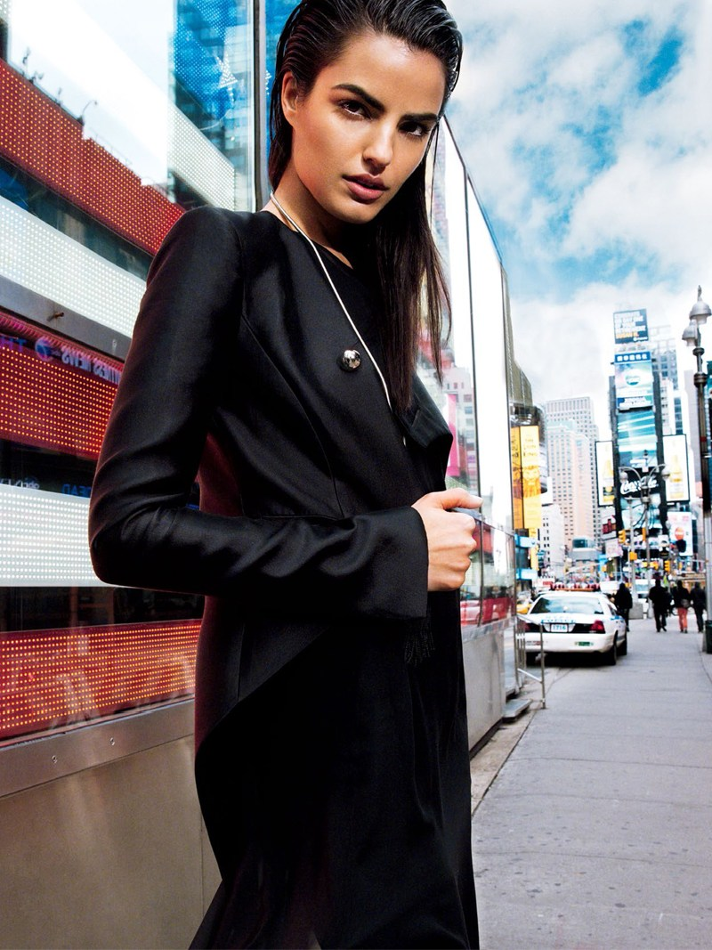 vogue thailand monotones3 Simon Cave Captures Liza Golden in the Big Apple for Vogue Thailand March 2013