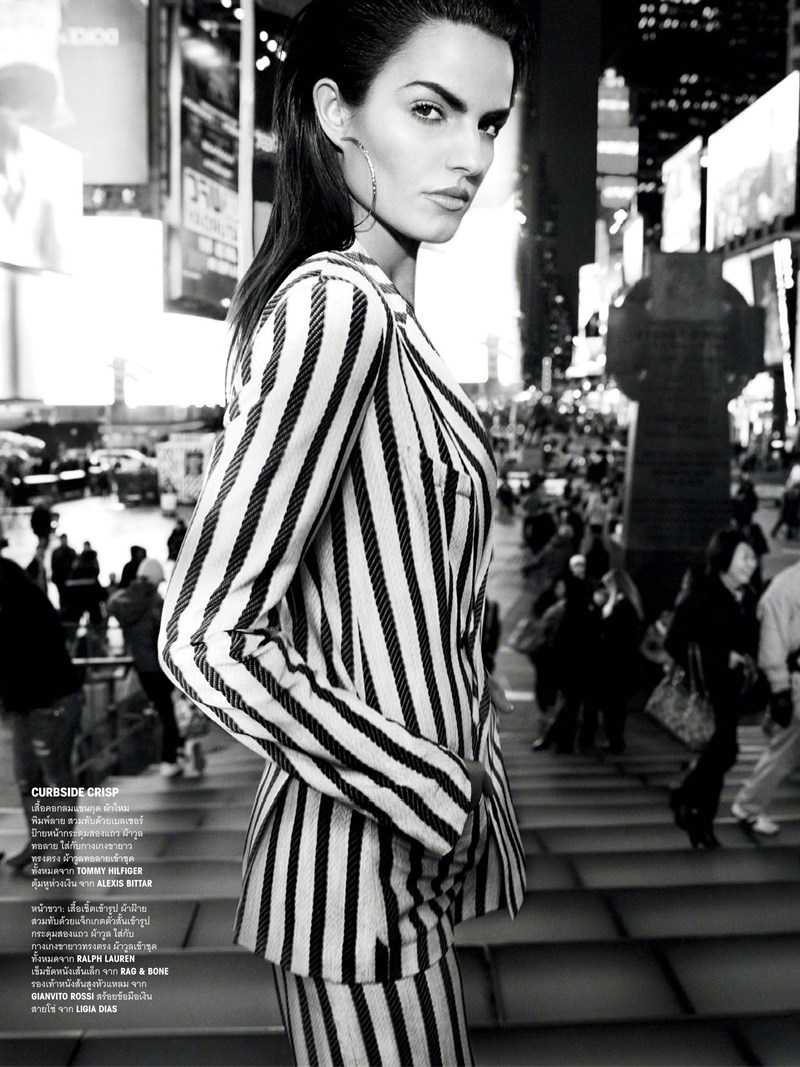 vogue thailand monotones5 Simon Cave Captures Liza Golden in the Big Apple for Vogue Thailand March 2013