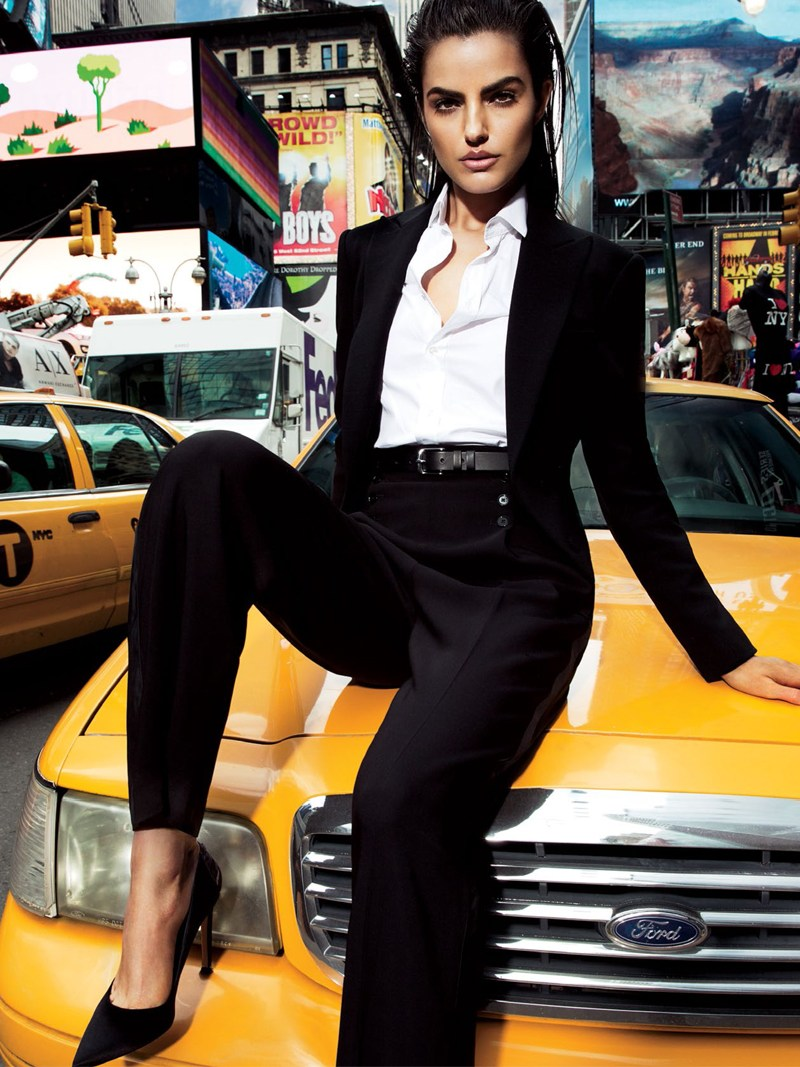 vogue thailand monotones6 Simon Cave Captures Liza Golden in the Big Apple for Vogue Thailand March 2013