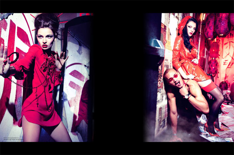 vs ellen von unwerth10 Carola Remer is Zero Woman for Vs. Magazine S/S 2013 by Ellen von Unwerth