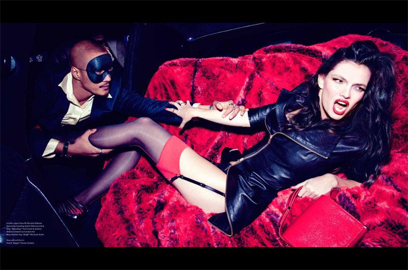 Carola Remer is Zero Woman for Vs. Magazine S/S 2013 by Ellen von Unwerth