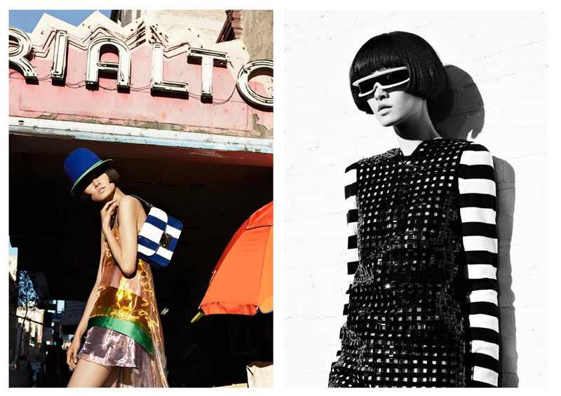 xiao wang obsession4 Wang Xiao Hits the Los Angeles Streets for Obsession Magazine by Julia Noni