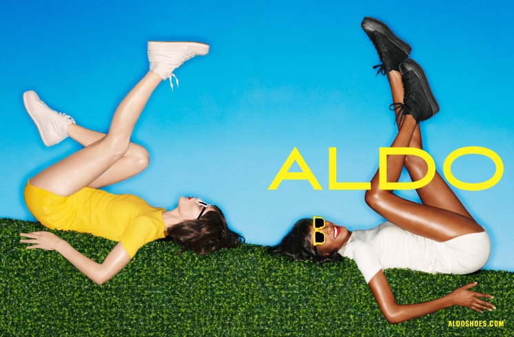ALDOSS13 See ALDOs Spring 2013 Campaign Film Starring Emily DiDonato and Jourdan Dunn