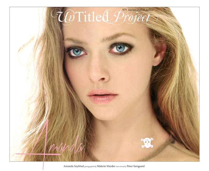 Amanda Seyfried Enchants in Un-Titled Project #5 by Malerie Marder
