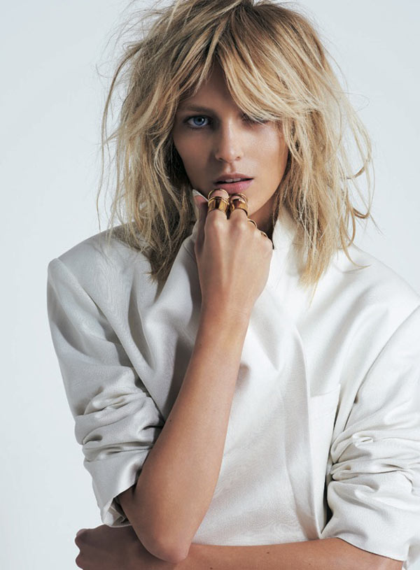 AnjaRubikSModa3 Anja Rubik is Sexy Cool for Eric Guillemain in S Modas April 2013 Cover Shoot
